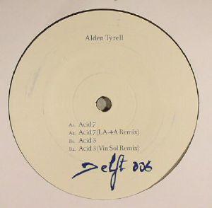 TYRELL, Alden - Acid 3 & 7