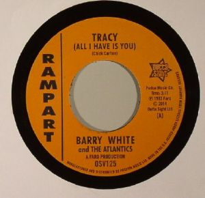 WHITE, Barry/THE ATLANTICS/SAMMY LEE - Tracy (All I Have Is You)