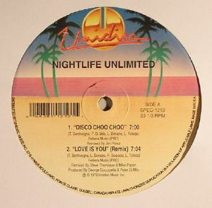 NIGHTLIFE UNLIMITED - Disco Choo Choo