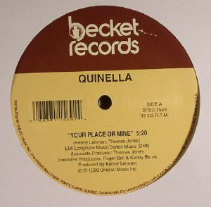 QUINELLA/KINKY FOXX - Your Place Or Mine