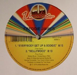 JAMES, Freddie - Everybody Get Up & Boogie