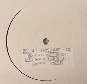 WILLIAMS, Boo - Mars 2002 (Collector's Edition)