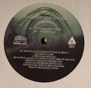 DJ SPIDER/DAKINI9/FRANKLIN DE COSTA/DIVVORCE - Underground Sounds Volume 3