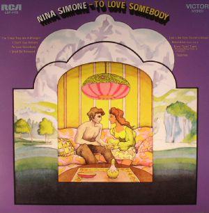 SIMONE, Nina - To Love Somebody (remastered)