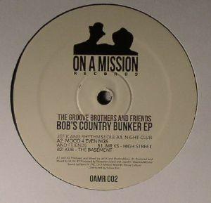 GROOVE BROTHERS, The aka JEF K/RHYTHM&SOUL/MR KS/KUB - Bob's Country Bunker EP