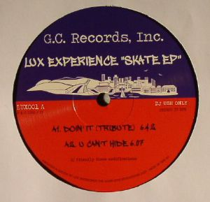 LUX EXPERIENCE - Skate EP