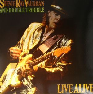 VAUGHAN, Stevie Ray/DOUBLE TROUBLE - Live Alive