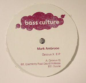 AMBROSE, Mark - Groove X EP