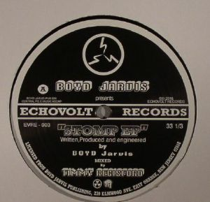 JARVIS, Boyd - Stomp EP