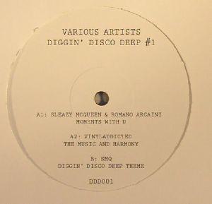 SLEAZY McQUEEN/ROMANO ARCAINI/VINYLADDICTED/SMQ - Diggin Disco Deep #1 (repress)