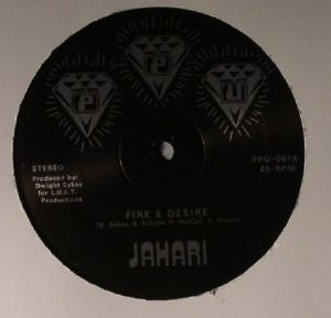 JAHARI - Fire & Desire
