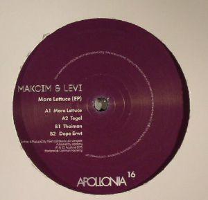 MAKCIM/LEVI - More Lettuce EP
