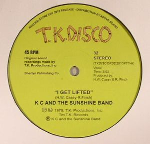 KC & THE SUNSHINE BAND - I Get Lifted (Record Store Day 2015) (reissue)