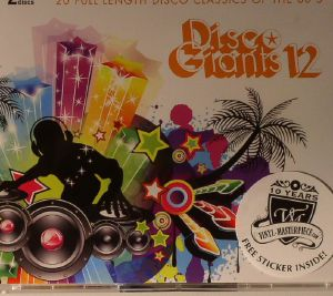 VARIOUS - Disco Giants Volume 12: 20 Full Length Disco Classics Of The 80's