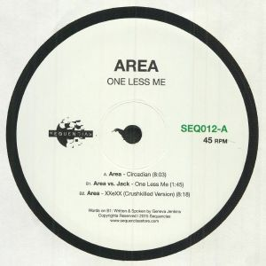 AREA - One Less Me