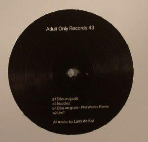 LARRY DE KAT - Diks On Gruds EP