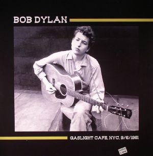 DYLAN, Bob - Gaslight Cafe, NYC, 9/6/1961