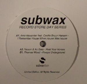 ALEXANDER, Amir/NICSON & AN GELO/THOMAS WOOD - Subwax Record Store Day Series 2015