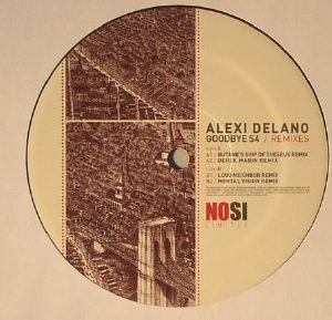 DELANO, Alexi - Goodbye S4 (remixes)