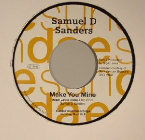 SANDERS, Samuel D - Make You Mine