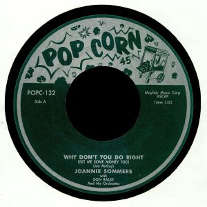 SOMMERS, Joannie/CLEO JONS - Why Don't You Do Right