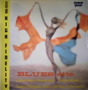 CURTIS FULLER'S QUINTET feat BENNY GOLSON/TOMMY FLANAGAN/JIMMY GARRISON/AL HAREWOOD - Blues-ette (Record Store Day 2015)