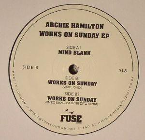 HAMILTON, Archie - Works On Sunday EP