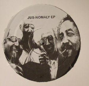 DJ JUS ED - Jus Nomaly EP