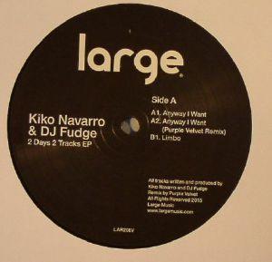 NAVARRO, Kiko/DJ FUDGE - 2 Days 2 Tracks EP