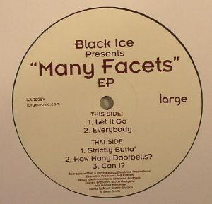 BLACK ICE - Many Facets EP
