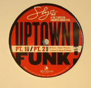 SLY 5TH AVE/THE CLUBCASA CHAMBER ORCHESTRA - Uptown Funk Pt 1 & Pt 2