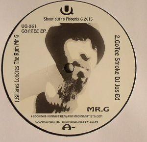 DJ JUS ED/MR G - Goatee EP