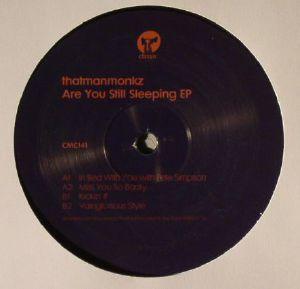 THATMANMONKZ - Are You Still Sleeping EP