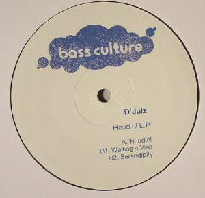 D JULZ - Houdini EP