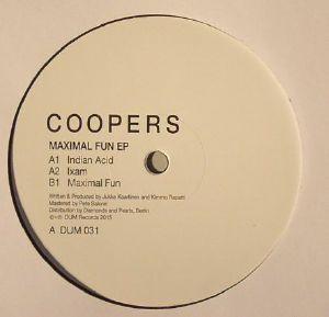 COOPERS - Maximal Fun EP