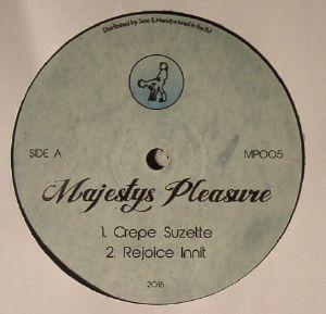 MAJESTY'S PLEASURE - MP 005