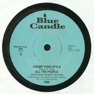 ALL THE PEOPLE feat ROBERT MOORE - Cramp Your Style (remastered)