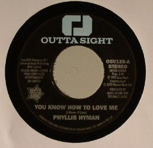 HYMAN, Phyllis - You Know How To Love Me