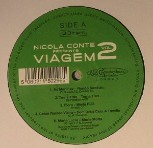 CONTE, Nicola/VARIOUS - Nicola Conte Presents Viagem Vol 2: Lost Rare Bossa & Samba Jazz Classics From The Swinging Brazilian 60s