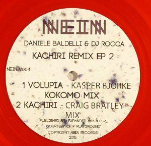BALDELLI, Daniele/DJ ROCCA - Kachiri Remix EP 2