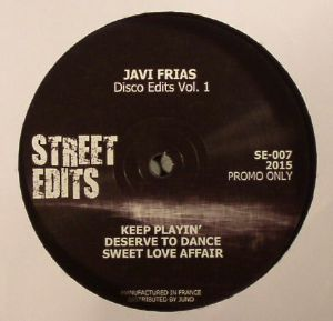 FRIAS, Javi - Disco Edits Vol. 1