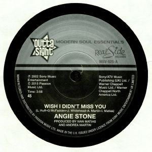 STONE, Angie - Wish I Didn't Miss You
