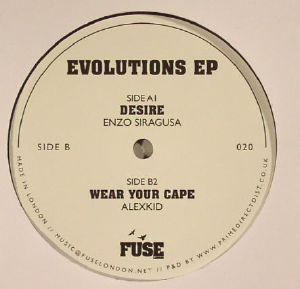 SIRAGUSA, Enzo/ALEXKID - Evolutions EP
