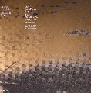 DE LA CALLE, Eduardo - Nanoscopic Scales