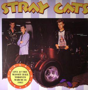STRAY CATS - Live At The Massey Hall Toronto March 28 1983: FM Radio Broadcast
