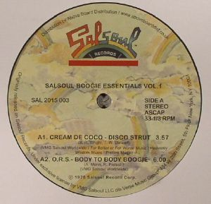 CREAM DE COCO/ORS/AURRA/RAFAEL CAMERON - Salsoul Boogie Essentials Vol 1