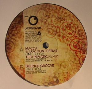 MACCA/LOZ CONTRERAS/SILENCE GROOVE - Only You