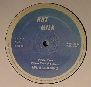 MR SPAULDING - Plane Fare