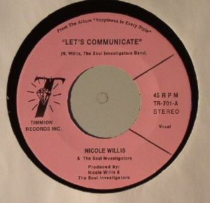 WILLIS, Nicole/THE SOUL INVESTIGATORS - Let's Communicate