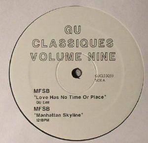 GU aka GLENN UNDERGROUND - Classiques Volume Nine